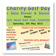 Chartwell Cancer Trust Golf Poster
